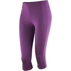 Textiel Dames Leggings Spiro Softex Druif