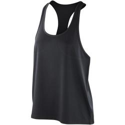 Textiel Dames Mouwloze tops Spiro S285F Zwart