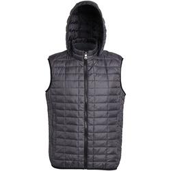 Textiel Heren Dons gevoerde jassen 2786 Honeycomb Zwart