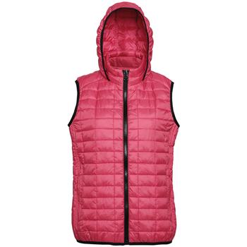 Textiel Dames Dons gevoerde jassen 2786 Hooded Rood