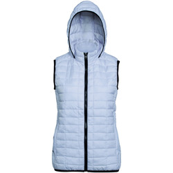 Textiel Dames Dons gevoerde jassen 2786 Hooded Wit