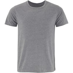 Textiel Heren T-shirts korte mouwen Comfy Co CC040 Houtskool