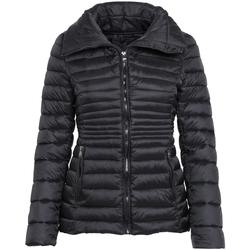 Textiel Dames Dons gevoerde jassen 2786 Quilted Zwart