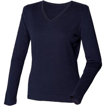 Textiel Dames Truien Henbury HB721 Marine