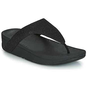 Schoenen Dames Slippers FitFlop LOTTIE GLITZY Zwart