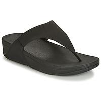Schoenen Dames Slippers FitFlop LULU SHIMMERLUX Zwart