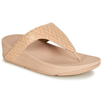 Schoenen Dames Slippers FitFlop LOTTIE CHEVRON SUEDE Roze