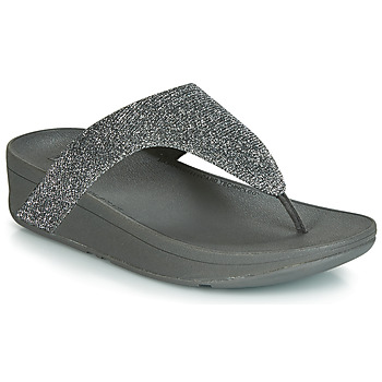 Schoenen Dames Slippers FitFlop LOTTIE GLITZY Zilver