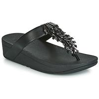Schoenen Dames Slippers FitFlop JIVE TREASURE Zwart
