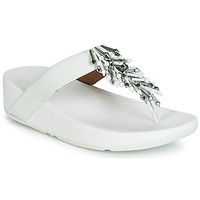 Schoenen Dames Slippers FitFlop JIVE TREASURE Wit