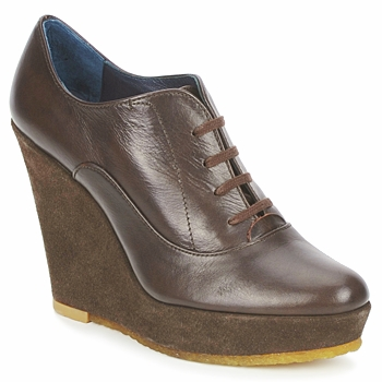 Schoenen Dames Low boots Castaner FUSTA Brown