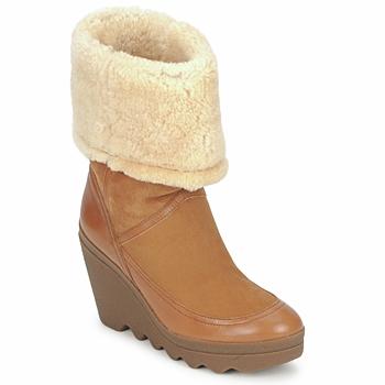 Schoenen Dames Enkellaarzen Ash VARUSHKA  CAMEL