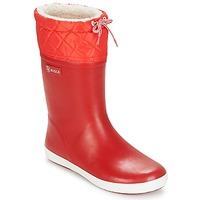 Schoenen Kinderen Snowboots Aigle GIBOULEE Rood / Wit