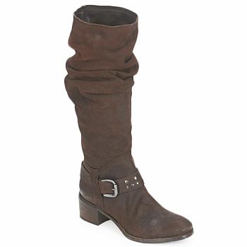 Schoenen Dames Hoge laarzen Rew Dream HYGIE Brown