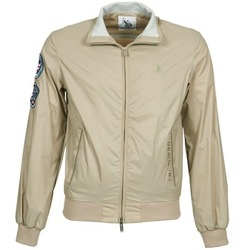 Textiel Heren Wind jackets U.S Polo Assn. PLAYER Beige