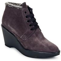 Schoenen Dames Low boots Parallèle LAHO Prune