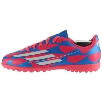 Schoenen Kinderen Voetbal adidas Originals F5 TF J Blanc, Bleu, Rose