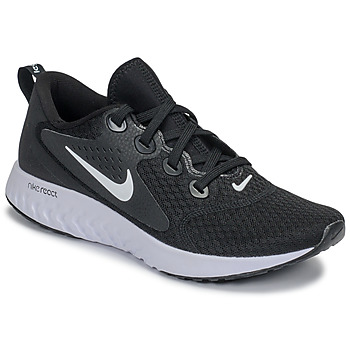 Schoenen Dames Running / trail Nike REBEL REACT Zwart / Wit