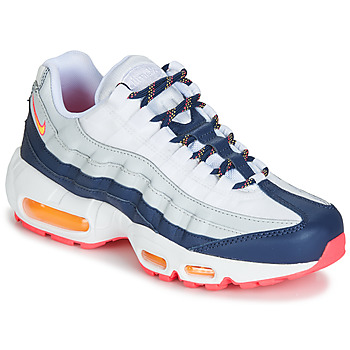 Schoenen Dames Lage sneakers Nike AIR MAX 95 W Wit / Blauw / Orange