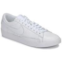 Schoenen Dames Lage sneakers Nike BLAZER LOW LEATHER W Wit